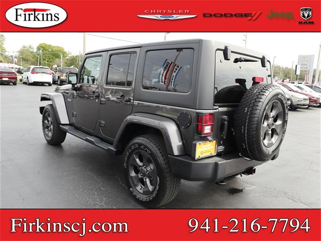 Certified Pre-Owned 2017 Jeep Wrangler Unlimited Freedom Edition