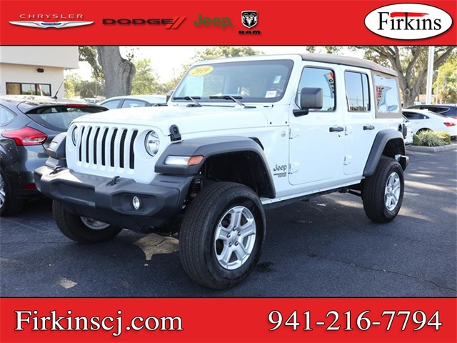 Certified Pre-Owned 2019 Jeep Wrangler Unlimited Sport