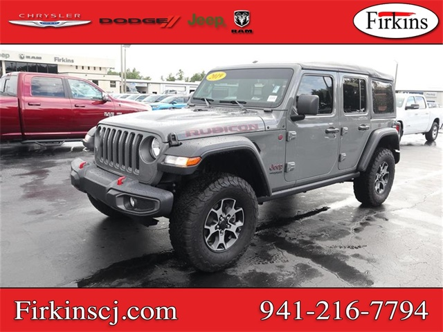 Certified Pre-Owned 2019 Jeep Wrangler Unlimited Rubicon