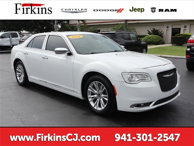 Certified Pre-Owned 2016 Chrysler 300C Base