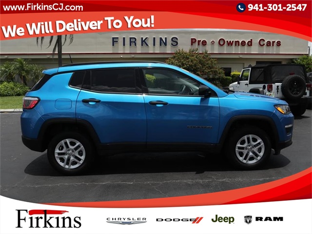 Certified Pre-Owned 2017 Jeep New Compass Sport