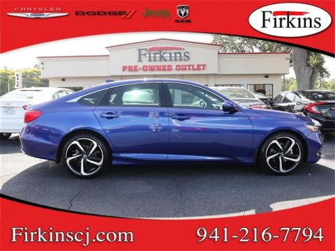 Pre-Owned 2018 Honda Accord Sport 2.0T